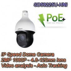 Speed Dome 2MP Starlight Termoventilata Video Analisi e Auto Tracking - Dahua Pro - SD59225U-HNI