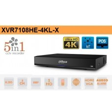 DVR 8 Canali HD CVI AHD TVI ANALOGICO IP 8MP 4K Dahua - XVR7108HE-4KL-X